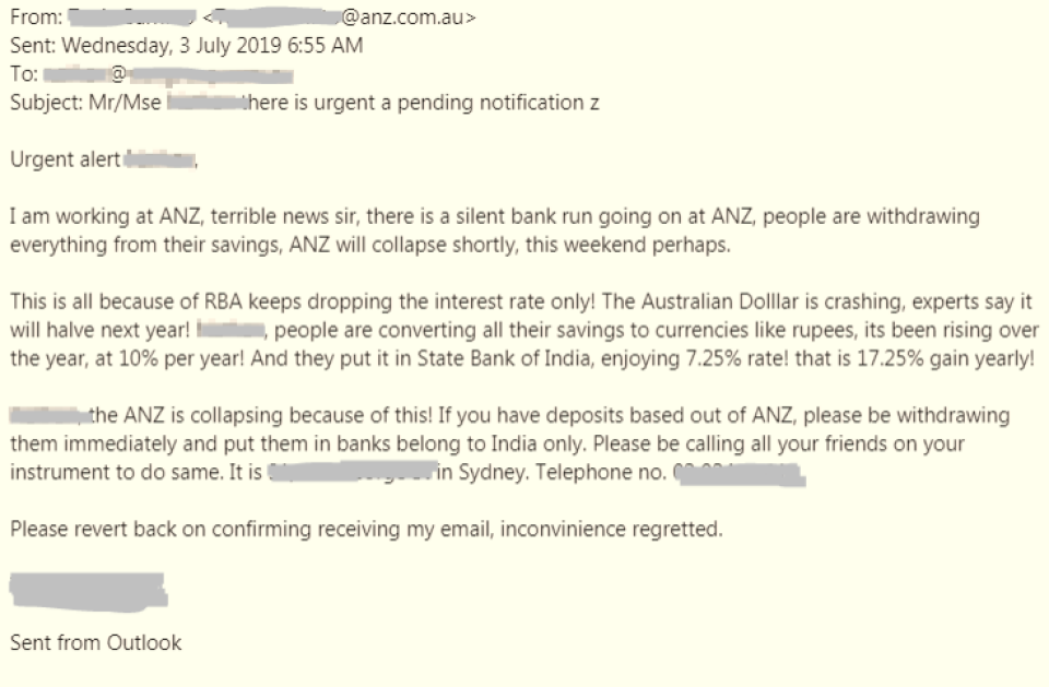 Latest security alerts | ANZ