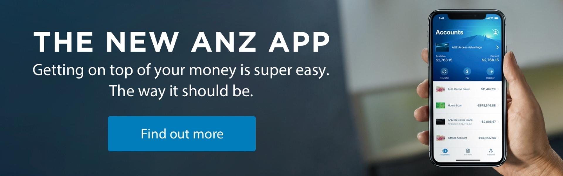 ANZ Internet Banking