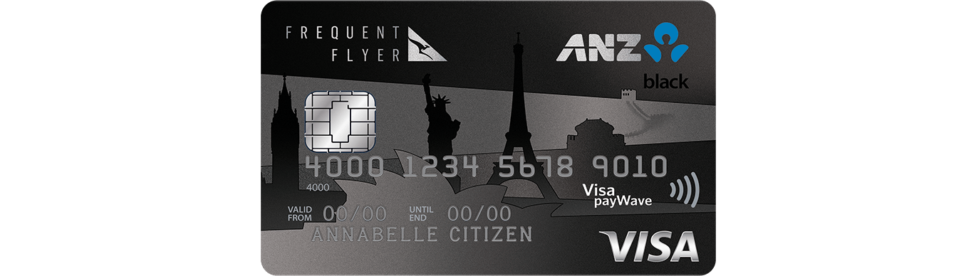 Frequent Flyer Black credit card