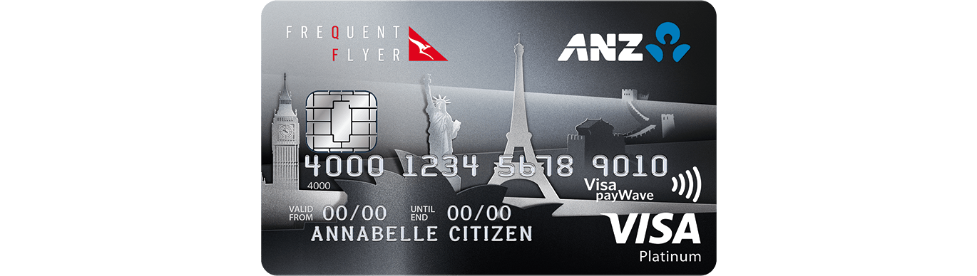 ANZ Frequent Flyer Platinum card