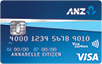 ANZ first credit card